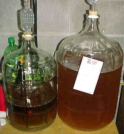Cider in progress